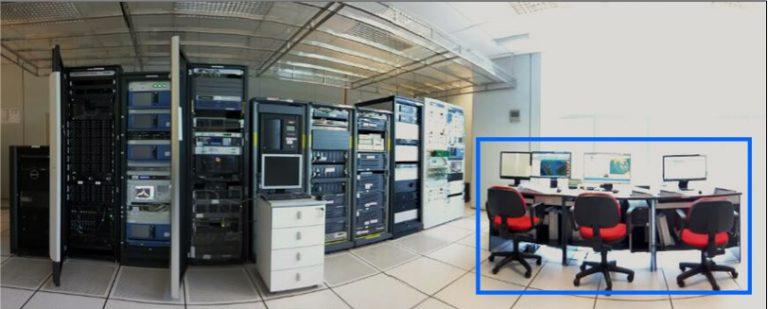 SPDS Operation Room for Satellite Data Receival