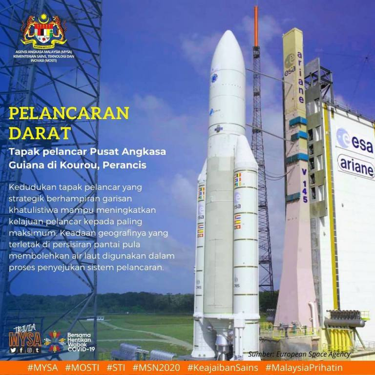 Pelancaran darat (Land Launch)