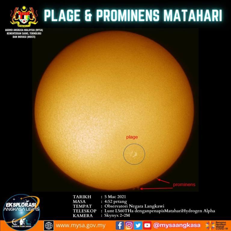 Plage & Prominens Matahari