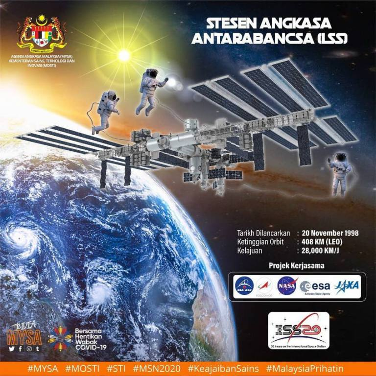 Stesen Angkasa Antarabangsa (ISS)