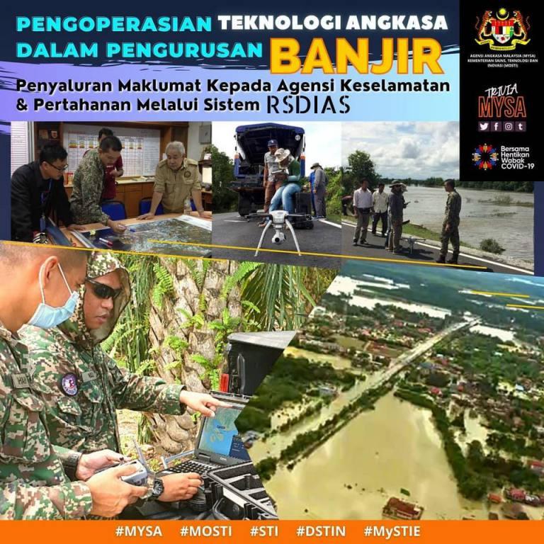 Penyaluran Maklumat Situasi Banjir Kepada Agensi Keselamatan Melalui Sistem Aplikasi Perisikan Pertahanan Remote Sensing (RSDIAS)