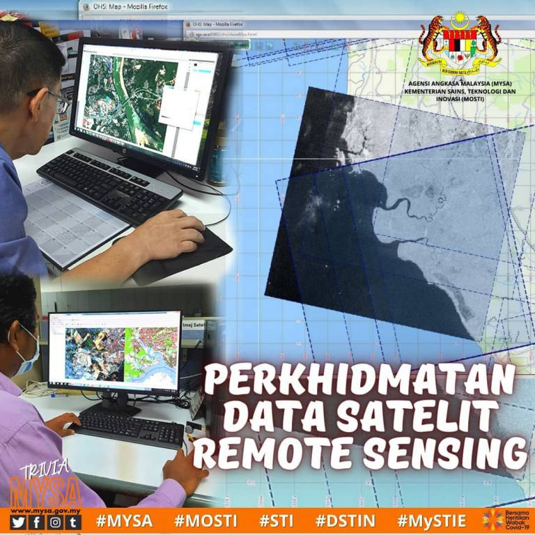 PERKHIDMATAN DATA SATELIT REMOTE SENSING