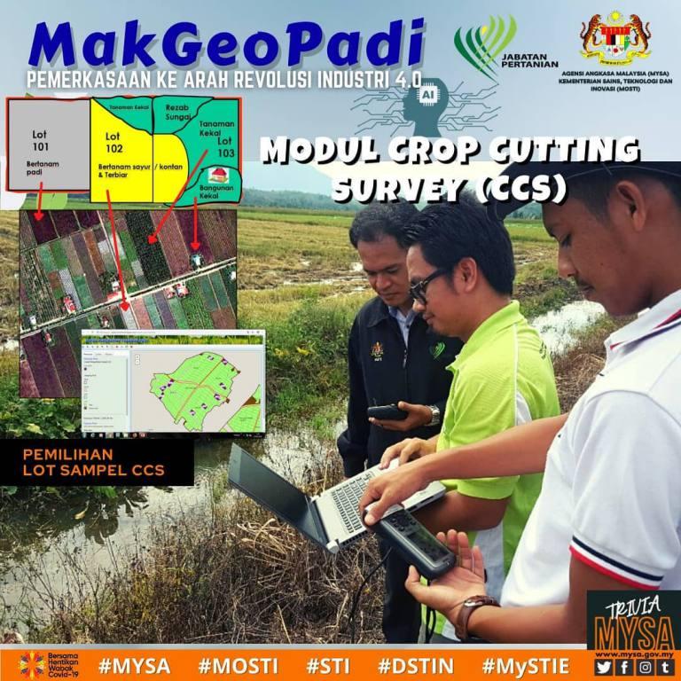 MakGeoPadi: Crop Cutting Survey (CCS)