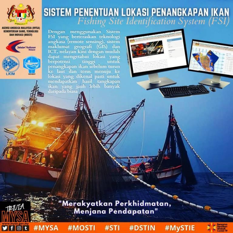 """Sistem Penentuan Lokasi Penangkapan Ikan (FSI)** """"Merakyatkan Perkhidmatan Menjana Pendapatan"""""""
