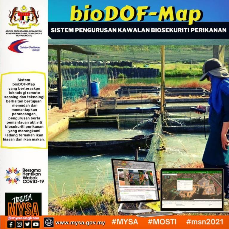 Sistem Pengurusan Kawalan Biosekuriti Perikanan (bioDOF-Map)