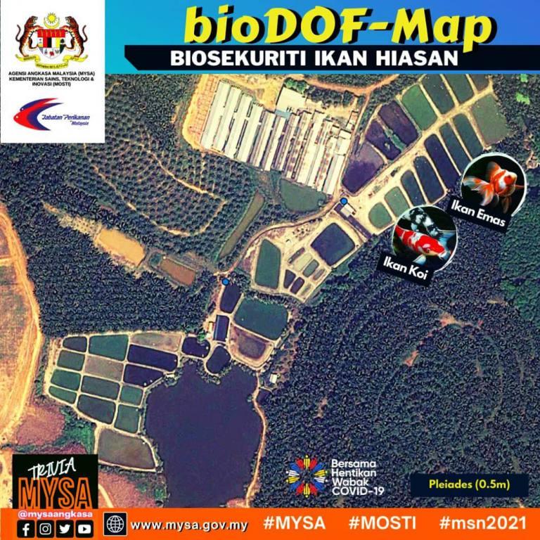 bioDOF-Map: BIOSEKURITI IKAN HIASAN
