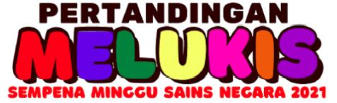 logo pertandingan melukis