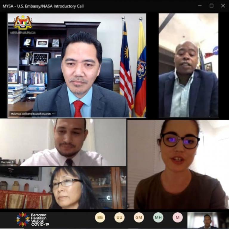 Mesyuarat Bersama Kedutaan Amerika Syarikat Di Malaysia Dan NASA