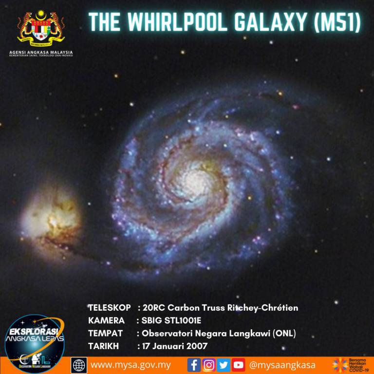 The Whirlpool Galaxy (M51)