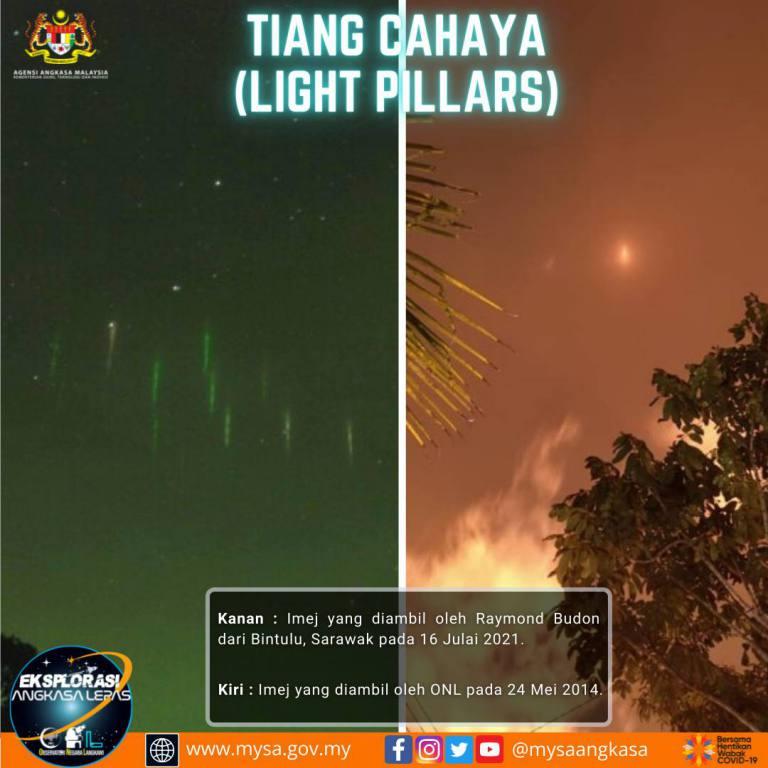 Tiang Cahaya (Light Pillars)