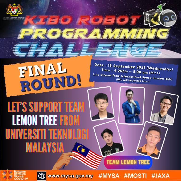 Kibo RPC 2021 Final Round