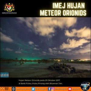 Hujan Meteor Orionids