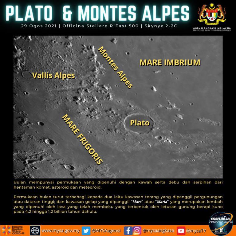 Plato & Montes Alpes